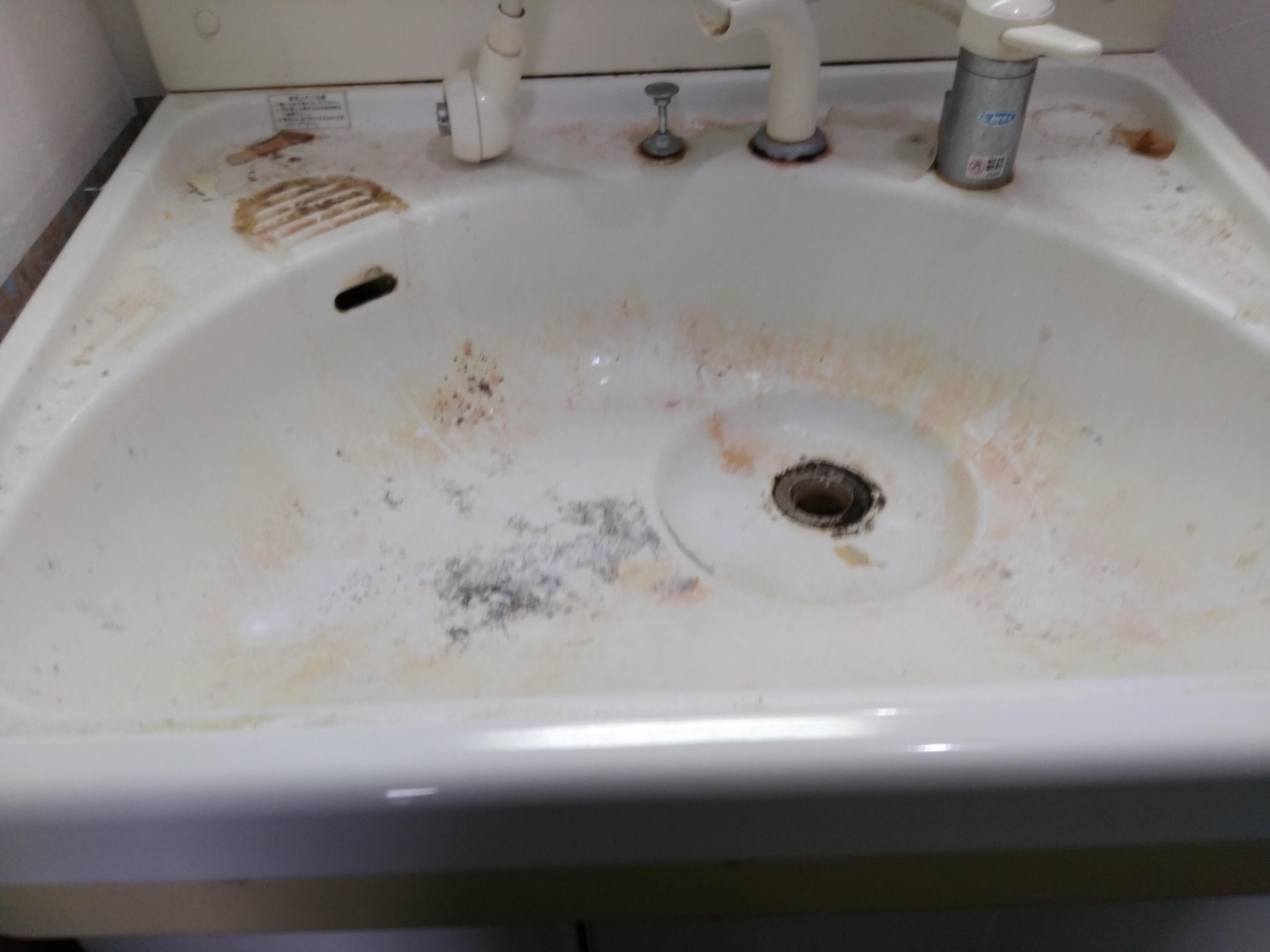 掃除 洗面 台